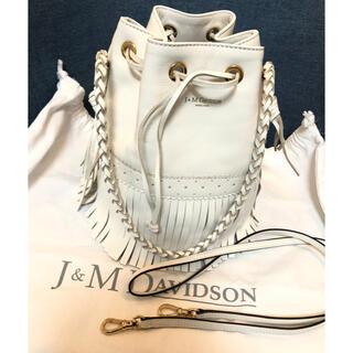 J&M DAVIDSON - 美品  J&M DAVIDSON フリンジカーニバル M  白