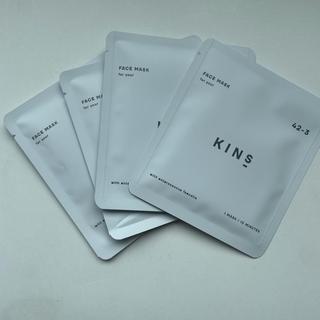 kins フェイスパック 4枚セット(パック/フェイスマスク)