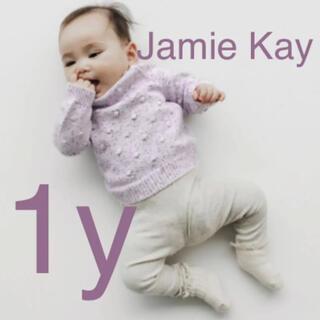 こども ビームス - Jamie Kay Dotty Knit LILAC  ドット ニット 新品