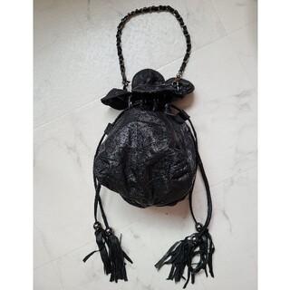 ローズバッド(ROSE BUD)のROSE BUD ローズバッド バッグ 巾着型 本革 (ハンドバッグ)