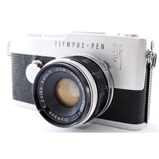 オリンパス(OLYMPUS)の#2333☆安心の分解整備清掃品☆OLYMPUS PEN F 38mm F1.8(フィルムカメラ)