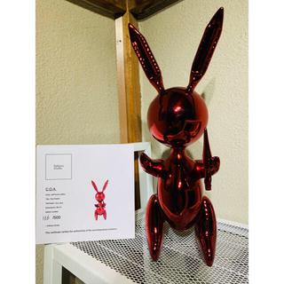 売り切れ 世界限定500 証明書付 ジェフクーンズ オブジェ 現代アート 村上隆(彫刻/オブジェ)