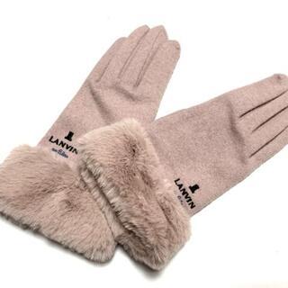 ランバンオンブルー(LANVIN en Bleu)のランバンオンブルー 手袋 レディース美品 (手袋)