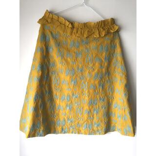 mina perhonen - ミナペルホネン  sky flower スカート 38