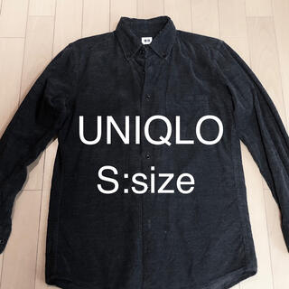 UNIQLO - UNIQLO ユニクロ コーデュロイ シャツ Sサイズ