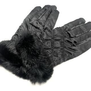 ランバンコレクション(LANVIN COLLECTION)のランバンコレクション 手袋 レディース -(手袋)