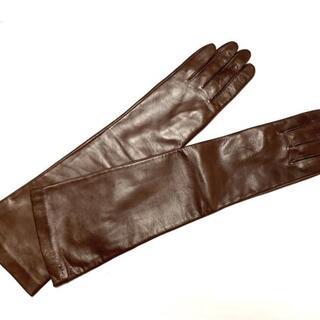 クロエ(Chloe)のクロエ 手袋 レディース美品  - レザー(手袋)
