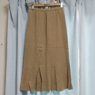 インゲボルグ(INGEBORG)の2762インゲボルグ ロングスカート 茶色(ロングスカート)