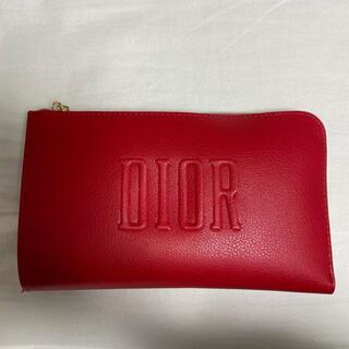 Christian Dior - Dior ディオール ポーチ ノベルティ レッド
