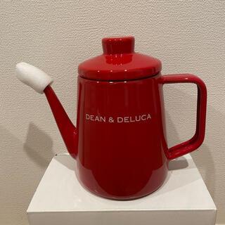 DEAN & DELUCA - 【新品】Dean & Deluca ケトル レッド 1ℓ