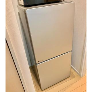 ユーイング URJ110HS 110リットル冷凍冷蔵庫 2ドア 2017年製(冷蔵庫)