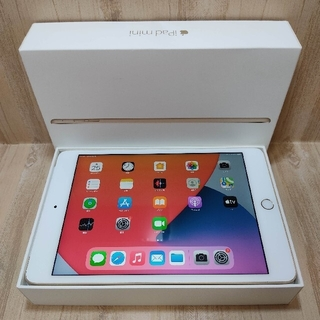 Apple - (美品) Ipad mini4 Model Wifi Simフリー16GB
