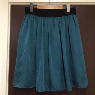 インディヴィ(INDIVI)の【美品】大きいサイズINDIVIスカート(ひざ丈スカート)