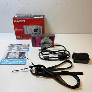 カシオ(CASIO)の生産終了品★CASIO ZR-1700 WR ★デジタルカメラ 自撮りOK❗️(コンパクトデジタルカメラ)