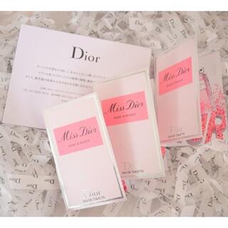 Christian Dior - Dior ディオール ローズ&ローズ オードゥ トワレ 1ml ブランド CHA