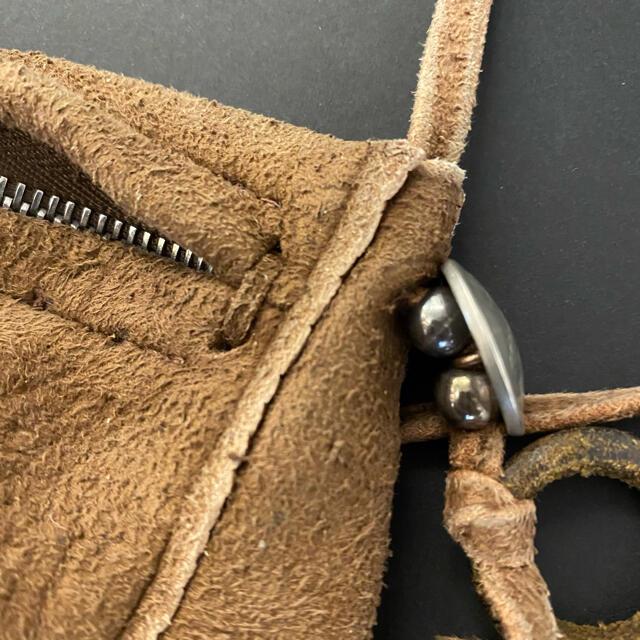 goro's(ゴローズ)の《中古》ゴローズ(goro's)内ポーチ M (焦げ茶)1819 メンズのバッグ(ショルダーバッグ)の商品写真