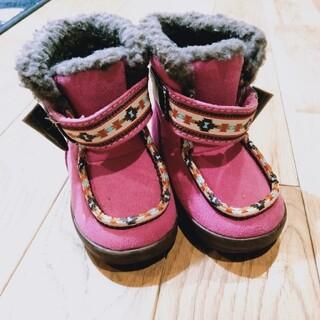 オシュコシュ(OshKosh)のブーツ 女の子 ベビー 12.5cm 靴(ブーツ)