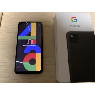 Google Pixel - pixel4a 本体 simフリー