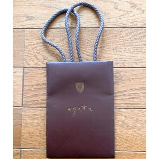 アガット(agete)のagate アガット ショップ袋 紙袋(ショップ袋)
