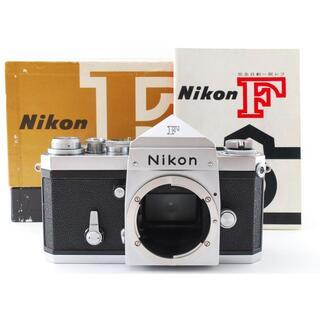 ニコン(Nikon)の完全動作品♪☆プリズムキレイ‼モルト張り替え済み☆ Nikon F アイレベル(フィルムカメラ)
