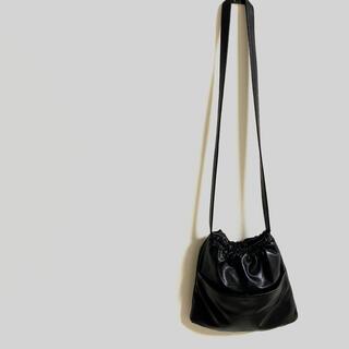 トゥデイフル(TODAYFUL)の#12 エコレザーショルダーバッグ 新品 ブラック 超軽量 期間限定販売(ショルダーバッグ)
