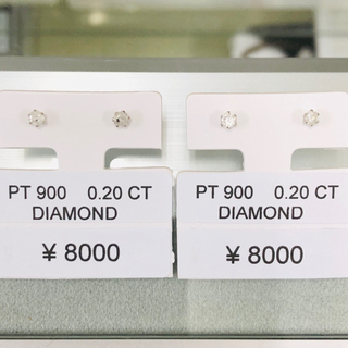 DE-15413+15442 PT900 ピアス ダイヤモンド AANI アニ(ピアス)