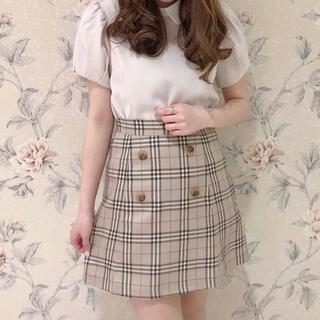 evelyn - evelyn ✧ チェックボタンスカート