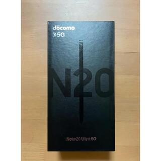 Galaxy - Galaxy note20 ultra 5G SIMフリー