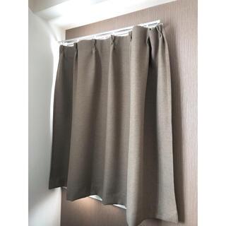 MUJI (無印良品) - 無印良品 カーテン2枚 色違い