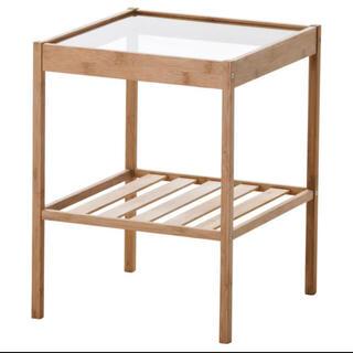 イケア(IKEA)のIKEAベッドサイドテーブル NESNA ネスナ 【新品・送料込み】(コーヒーテーブル/サイドテーブル)