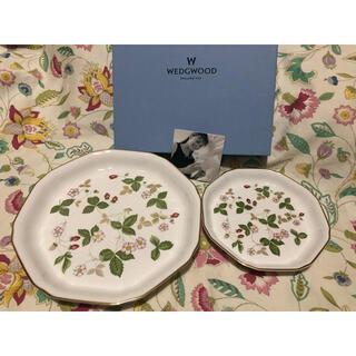 ウェッジウッド(WEDGWOOD)のウェッジウッド  ワイルドストロベリー プレートセット(食器)