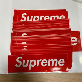 Supreme - supreme box logo ステッカー シュプリーム