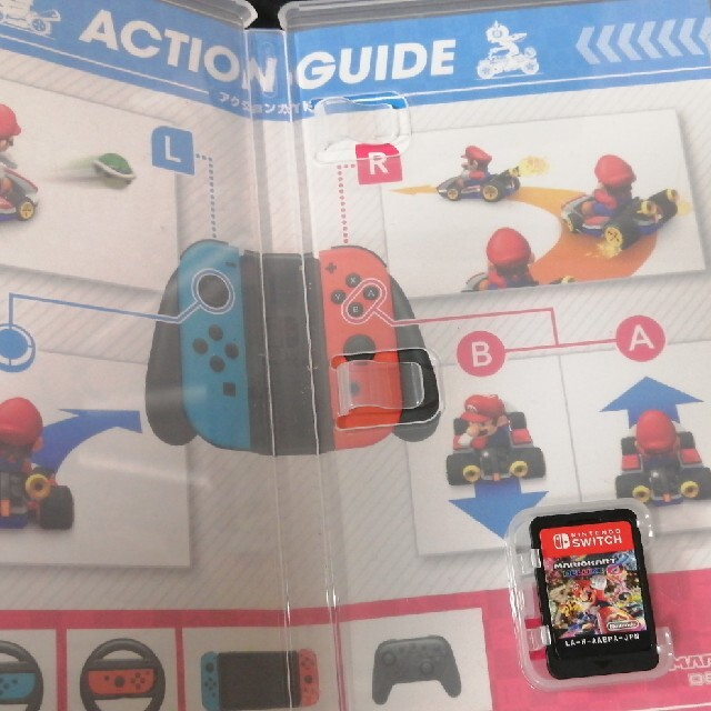 Nintendo Switch(ニンテンドースイッチ)のマリオカート8 デラックス Switch エンタメ/ホビーのゲームソフト/ゲーム機本体(家庭用ゲームソフト)の商品写真