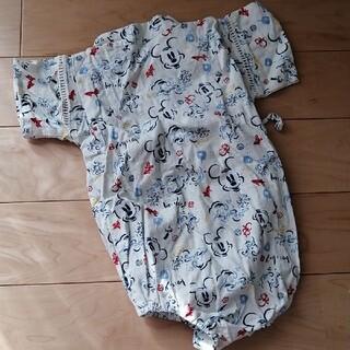 ディズニー(Disney)のミッキー柄 甚平(甚平/浴衣)