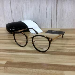 シャネル(CHANEL)のシャネル メガネ 鼈甲フレーム ココマーク2132(サングラス/メガネ)