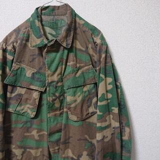 エンジニアードガーメンツ(Engineered Garments)の60s jungle fatigue ERDL camouflage(ミリタリージャケット)