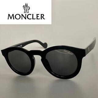 MONCLER - モンクレール ブラック サングラス ボストン ML パント ダーク グレー