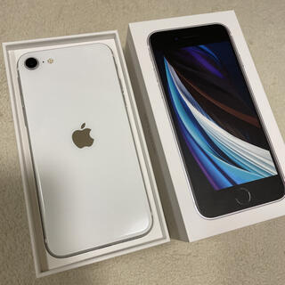 Apple - iPhone SE 第2世代 ホワイト 64GB SIMフリー