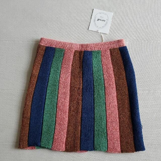 Caramel baby&child (キャラメルベビー&チャイルド)の6-7Y♥️oeuf NY ニットスカート キッズ/ベビー/マタニティのキッズ服女の子用(90cm~)(スカート)の商品写真