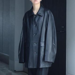 サンシー(SUNSEA)のstein 21ss 新品 タグ有 Leather Jacket(レザージャケット)