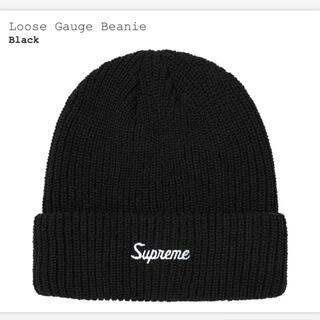 Supreme - Supreme Loose Gauge Beanie Black