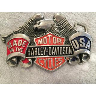 ハーレーダビッドソン(Harley Davidson)のバックル ベルトはおまけで。(その他)