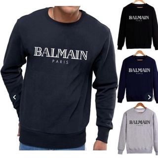 バルマン(BALMAIN)の【即納】balmainインポートロゴパーカー(パーカー)