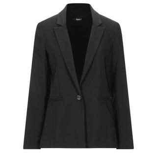 イタリア インポート ブランド SISTE'S 黒テーラードジャケット オフィス(テーラードジャケット)