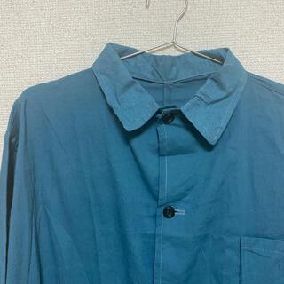ロキエ(Lochie)のvinvage メディカルシャツ シャツワンピース(ロングワンピース/マキシワンピース)