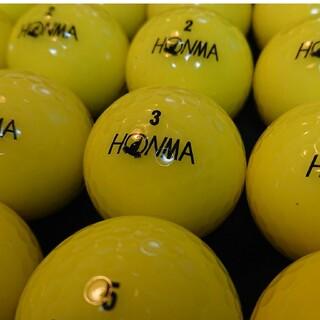 ホンマゴルフ(本間ゴルフ)の【B級】´18 ホンマ D1 24球 イエロー ロストボール ゴルフボール(その他)