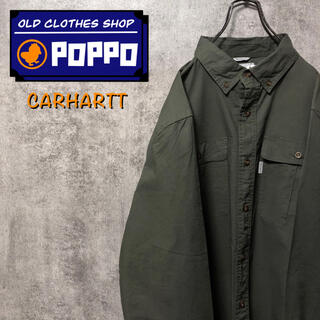 carhartt - カーハート☆タグ付きフラップ付きダブルポケットワークシャツ