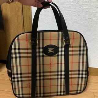 BURBERRY - オールドバーバリー 大容量ハンドバッグ 最終価格
