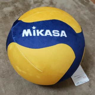 ミカサ(MIKASA)のMIKASA ミカサ バレーボール クッション もちもち グッズ イエロー(クッション)