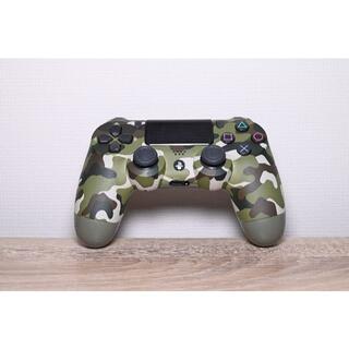 プレイステーション(PlayStation)のデュアルショック4 グリーンカモフラージュ(家庭用ゲーム機本体)